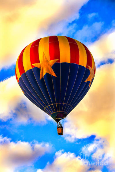 Basket Stars Photograph - Arizonia Hot Air Balloon Special by Robert Bales