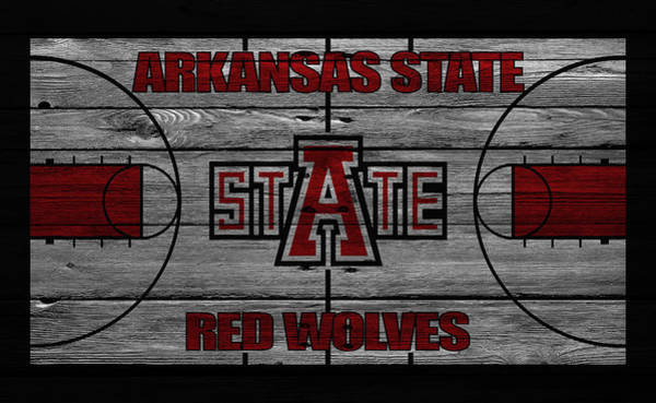 Red Wolf Photograph - Arkansas State Red Wolves by Joe Hamilton