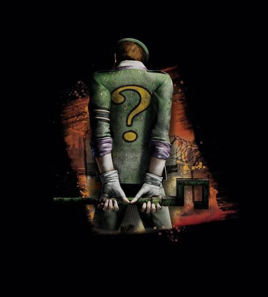 Batman Digital Art - Arkham City - Riddler Convicted by Brand A