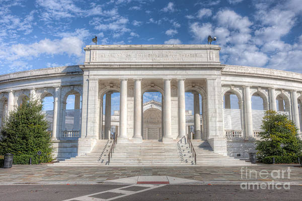 Photograph - Arlington Memorial Amphitheater I by Clarence Holmes