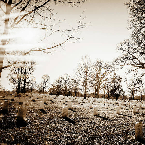 Arlington County Photograph - Arlington National Cemetery by Ron Koeberer