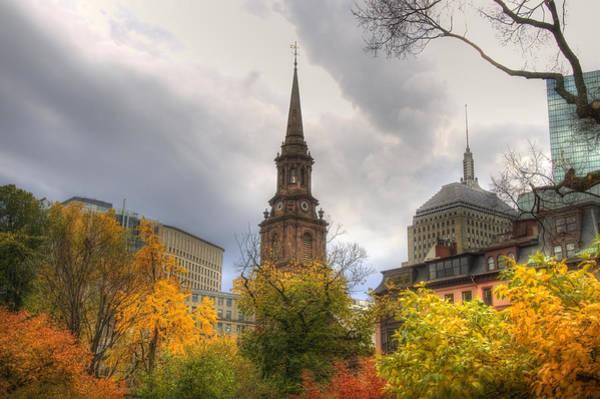 Photograph - Arlington Street Church by Joann Vitali