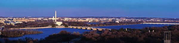 Wall Art - Photograph - Arlington, Va - Wash D.c. - Panoramic by Panoramic Images
