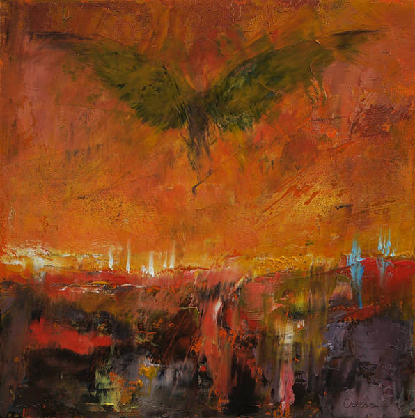Hells Angels Wall Art - Painting - Armageddon by Michael Creese
