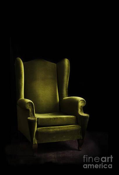 Wall Art - Pyrography - Armchair by Jelena Jovanovic