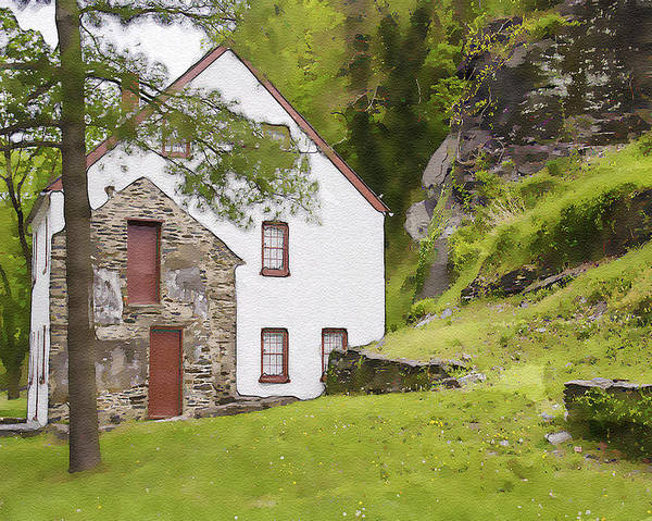 Wall Art - Photograph - Armory Worker's House At Harpers Ferry by Dave Sandt