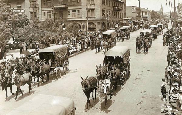 Wagon Digital Art - Army Day 1915 by Unknown