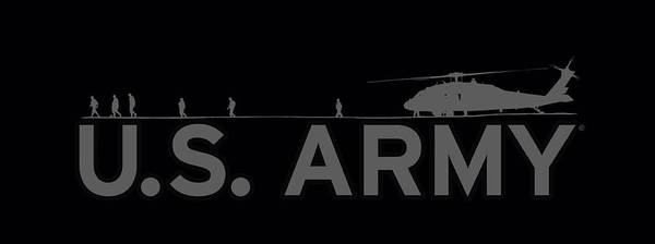 United States Air Force Digital Art - Army - Helicopter by Brand A