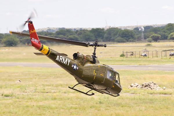 Kimberley Airport Photograph - Army II by Paul Job
