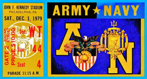 Wall Art - Photograph - Army Navy 1979 by Benjamin Yeager