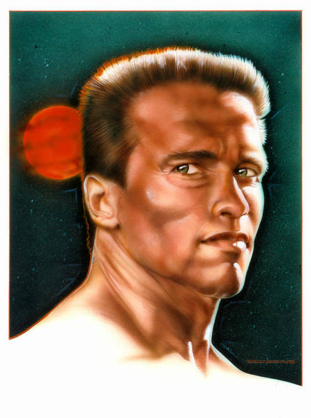 Wall Art - Painting - Arnold by Timothy Scoggins