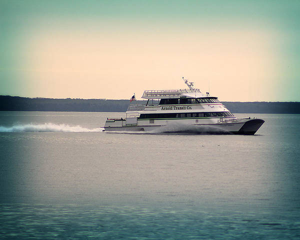 Photograph - Arnold Transit Ferry by Scott Hovind