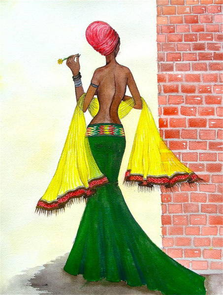 Painting - Around The Corner by Mahlet