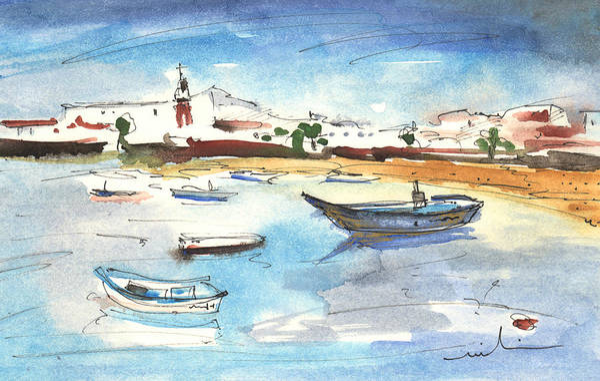 Painting - Arrecife In Lanzarote 04 by Miki De Goodaboom
