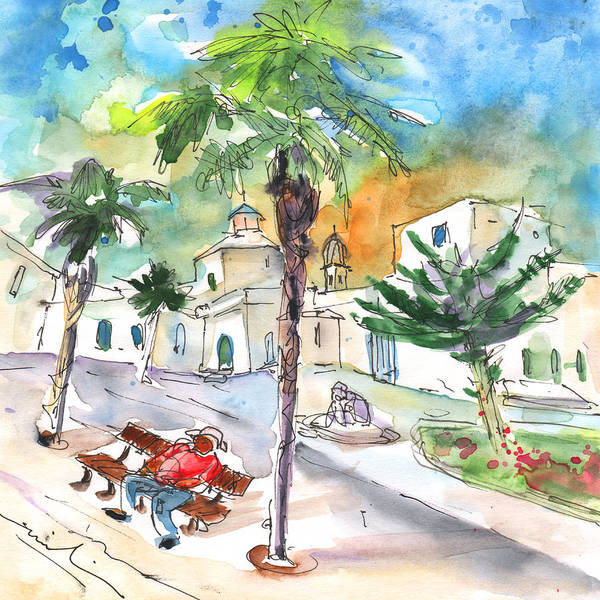 Painting - Arrecife In Lanzarote 09 by Miki De Goodaboom