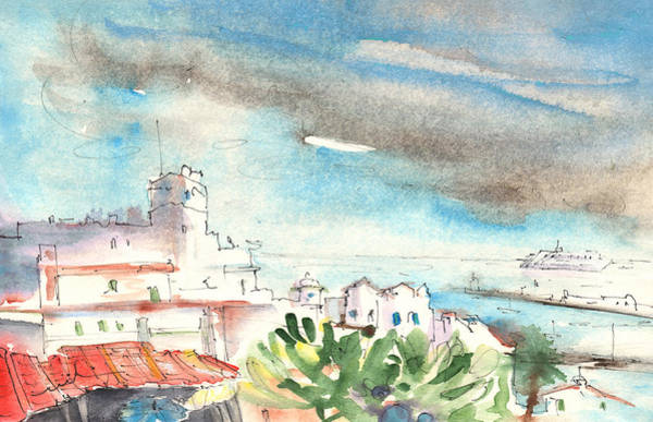 Painting - Arrecife In Lanzarote 10 by Miki De Goodaboom