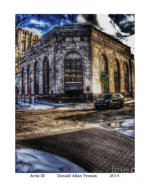 Mount Clemens Photograph - Arris IIi by Donald Yenson