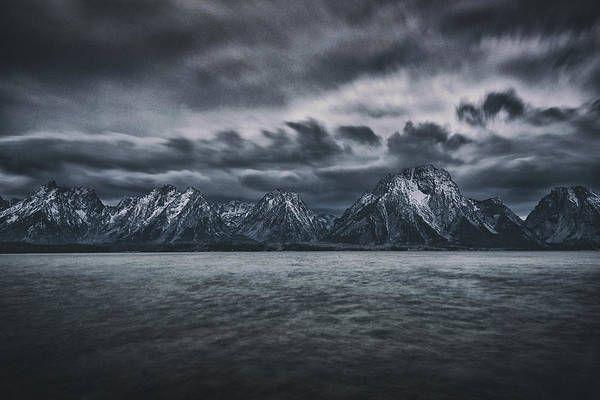 Jackson Hole Photograph - Arriving Storm by Robert Fawcett