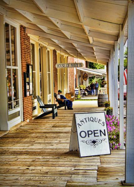 Photograph - Arrow Rock - Boardwalk Shops by Cricket Hackmann