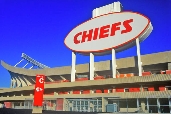 Mo Photograph - Arrowhead Stadium, Home Of The Kansas by Panoramic Images