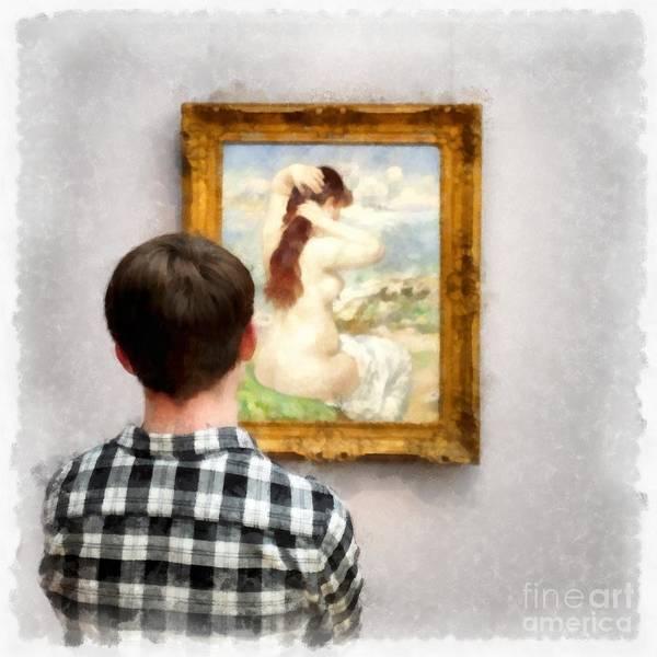 Wall Art - Photograph - Art Appreciation by Edward Fielding