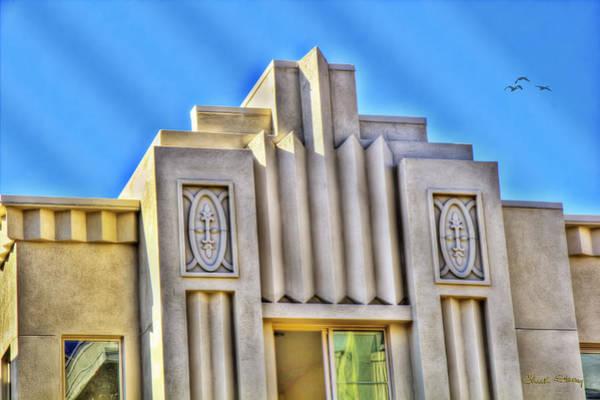 Photograph - Art Deco Condominium by Chuck Staley