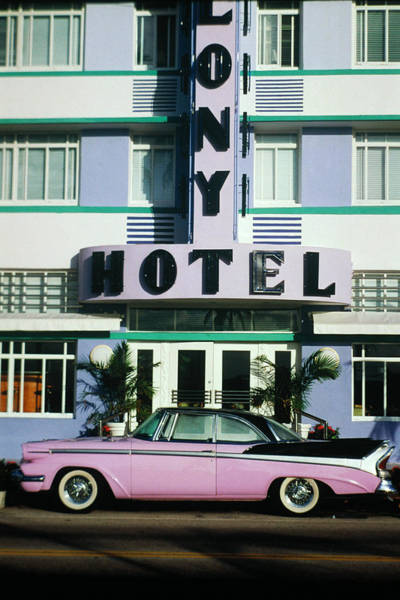 Wall Art - Photograph - Art Deco District In Miami, Fl by Joseph Sohm
