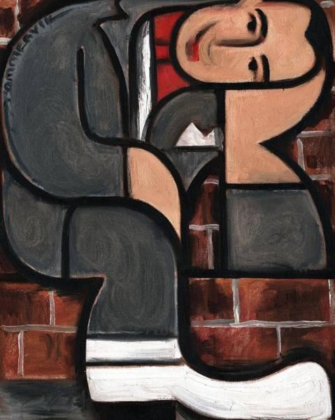 Wall Art - Painting - Art Deco Pee Wee Herman Art Print by Tommervik