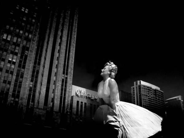 Photograph - Art In Chicago by Milena Ilieva