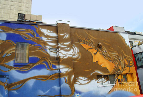 Photograph - Art In Montreal by Brenda Kean