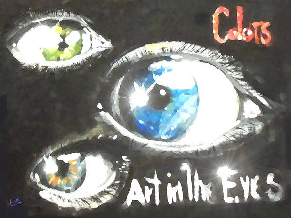 Eyeballs Painting - Art In The Eyes 2 by Marcello Cicchini
