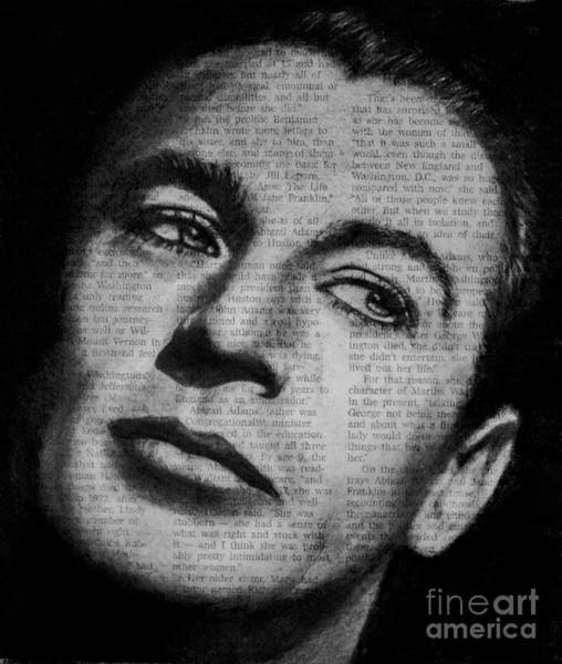 Drawing - Art In The News 35-gary Cooper by Michael Cross