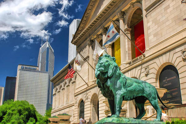 Art Institute In Chicago Art Print