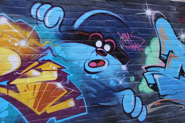 Fantasy Wall Art - Photograph - Art Mural On Hollywood Blvd by Tony Castle