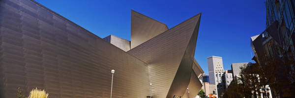Denver Art Museum Photograph - Art Museum In A City, Denver Art by Panoramic Images
