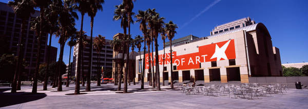 Silicon Valley Wall Art - Photograph - Art Museum In A City, San Jose Museum by Panoramic Images