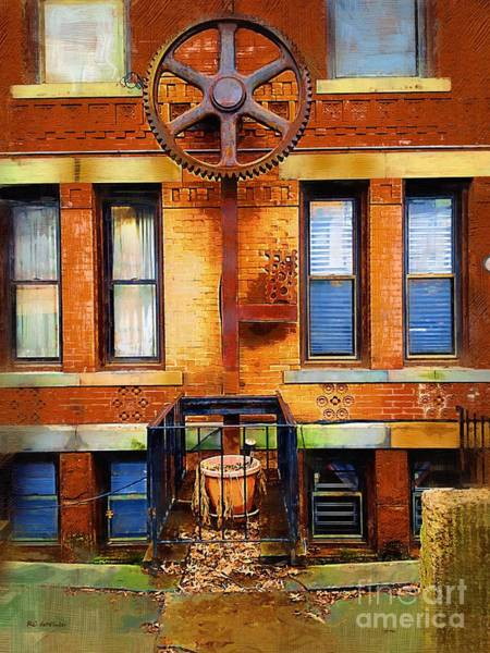 Painting - Art On Park Street by RC DeWinter