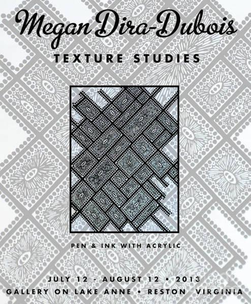 Drawing - Art Poster No1 by Megan Dirsa-DuBois