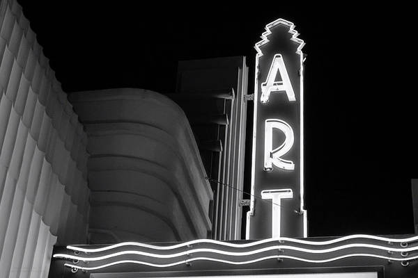 Art Theatre Long Beach Denise Dube Art Print