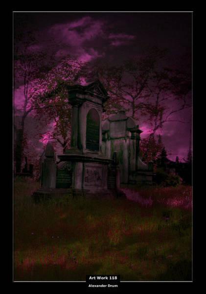 The Undead Photograph - Art Work 118 Midnight by Alexander Drum