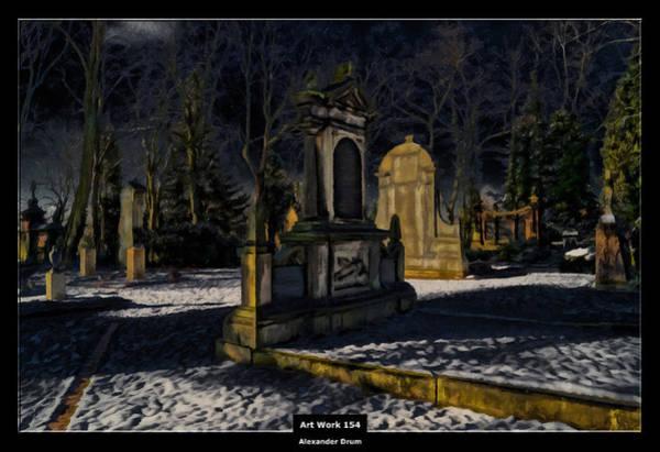 The Undead Photograph - Art Work 154 Cemetery by Alexander Drum