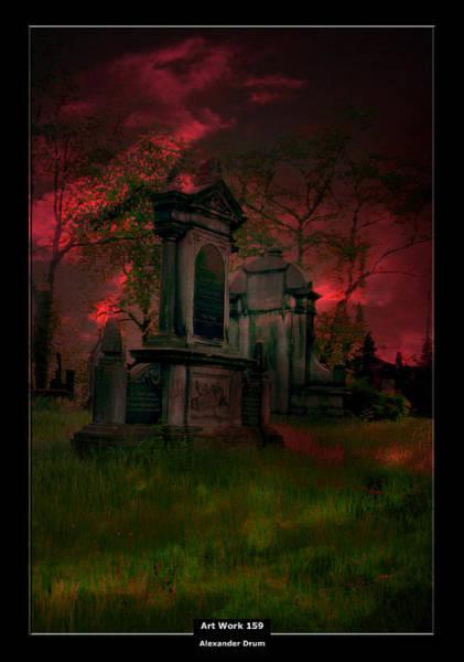 The Undead Photograph - Art Work 159 Midnight by Alexander Drum