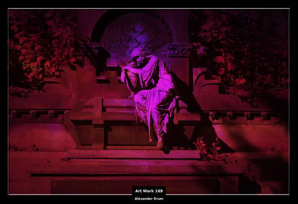 The Undead Photograph - Art Work 169 Casket by Alexander Drum