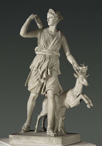 Artemis Photograph - Artemis The Huntress, Known by Everett