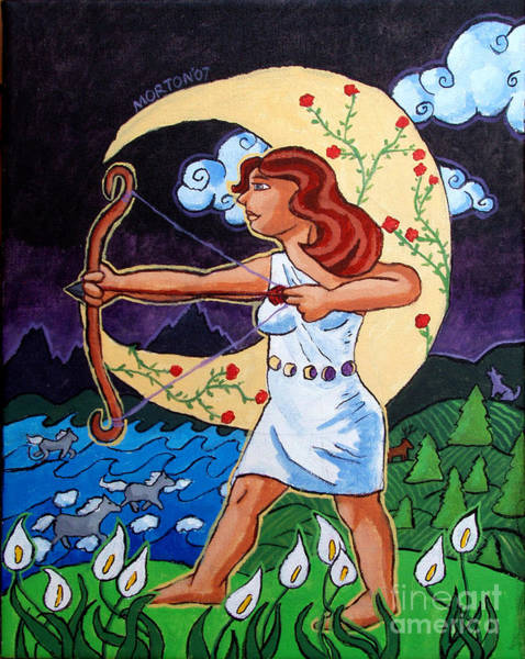 Painting - Artemis by Whitney Morton