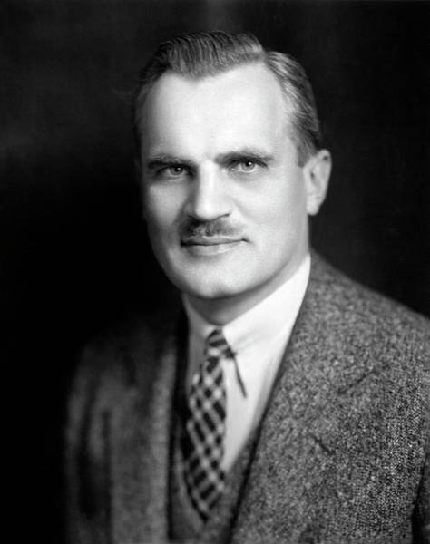 Nobel Prize Winners Wall Art - Photograph - Arthur Compton by Moffett Studio, Courtesy Aip Emilio Segre Visual Archives, Weber Collection, W. F. Meggers Gallery Of Nobel Laureates