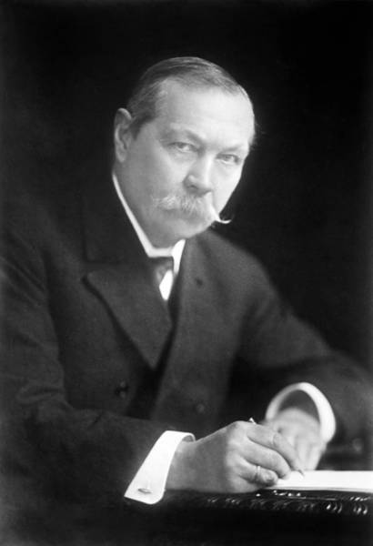 Conan Photograph - Arthur Conan Doyle, Scottish Author by Science Photo Library