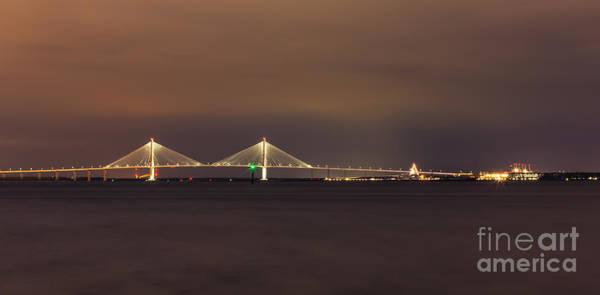 Photograph - Arthur Ravenel Junior Bridge Pano by Donnie Whitaker