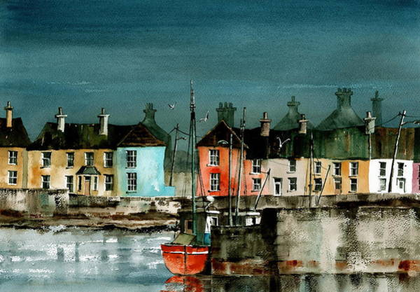 Painting - Arthurstown Wexford by Val Byrne
