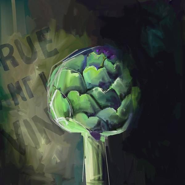 Green Photograph - Artichoke #3 by Cathy Walters